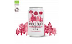 Whole Earth Food Sparkling Cola 330 ml.