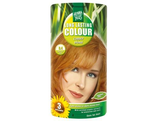 Henna Plus Long lasting hárlitur #8.4 Copper blond