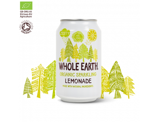 Whole Earth Food Límonaði 330 ml.