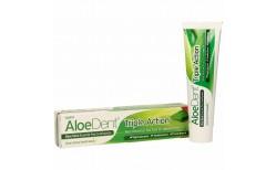 Optima Aloe Vera tannkrem Triple Action án flúors 100 ml.
