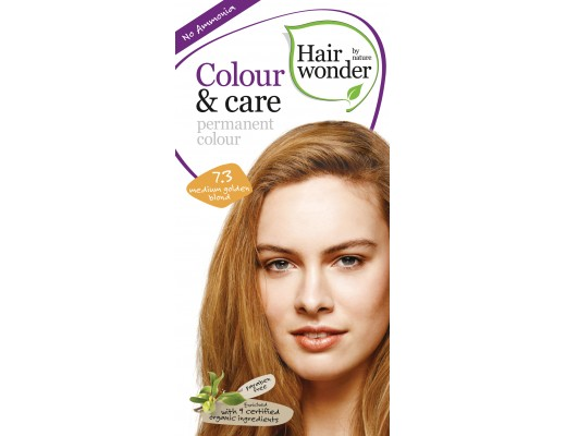 Color&Care hárlitur #7.3 Medium Golden Blonde
