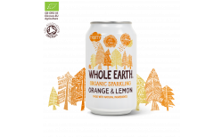 Whole Earth Food Appelsínu & sítrónugos 330 ml.