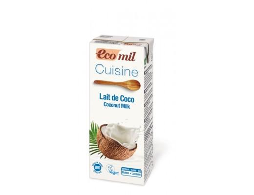 Ecomil kókosrjómi 200 ml.