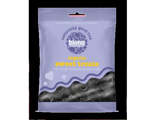 Biona Organic Licorice spirals lakkrís 75 gr.