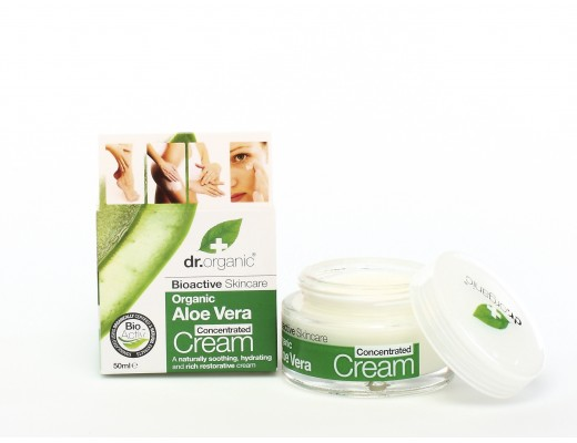 Dr. Organic Aloe Vera Concentrated Cream
