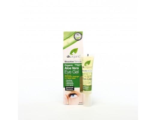 Dr. Organic Aloe Vera Eye Gel 15 ml.