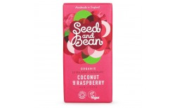 Seed and Bean Coconut & Raspberry chocoklate 85 gr.