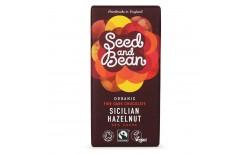 Seed and Bean Sicilian Hazelnut Dark chocolate 58%