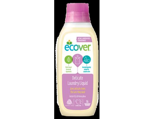 Ecover þvottaefni fyrir viðkvæman þvott 750 ml.