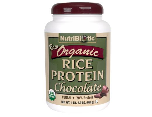 Nutribiotics Organic Rice protein Súkkulaði 600 gr.