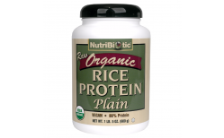 Nutribiotic  Org Rice protein Plain 600 gr.