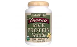 Nutribiotic Organic Rice protein Vanilla 600 gr.