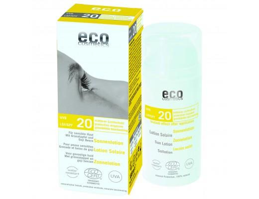 Eco sólarvörn krem SPF20 100 ml. #vegan