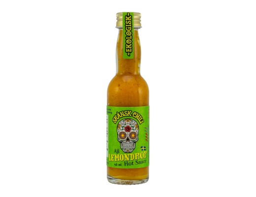 Skansk Aji lemon drop Hot Sósa meðalsterk 40 ml.