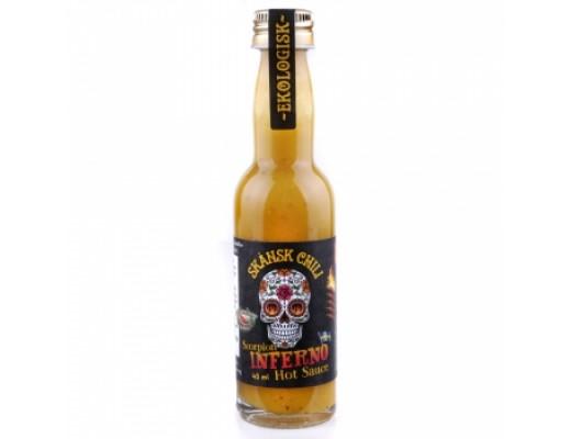 Skansk scorpion inferno Extra Sterk 40 ml.