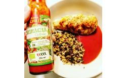 Skansk Sriracha chilisósa Meðalsterk 250 ml.