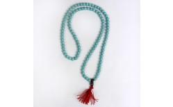 Lotus Mala hálsmen, 40 cm. #Turquoise