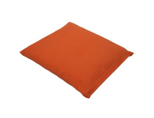 Lotus hnépúði fylling Buchweizen 32x32 cm. #orange
