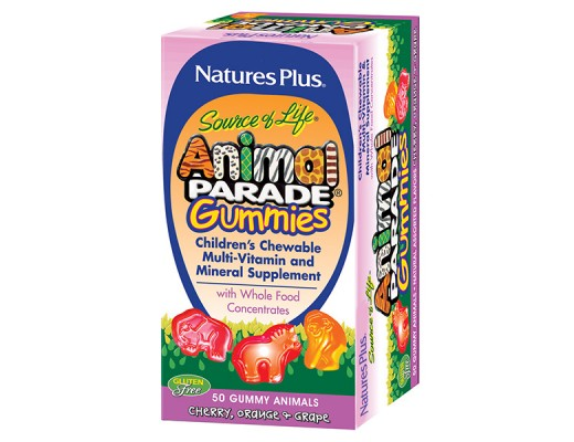 Animal Parade Childrens Multivitamin and Mineral suppliment 50 stk.