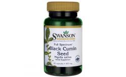 Swanson Black Cumin Seed 60 hylki