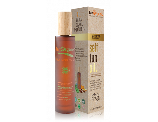 Tan Organic Self Tanning Oil 100 ml.