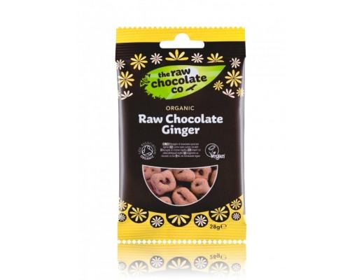 Raw Chocolate Company Organic Snack Ginger 28 gr.