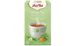 Yogi White tea with aloe vera  17 pokar
