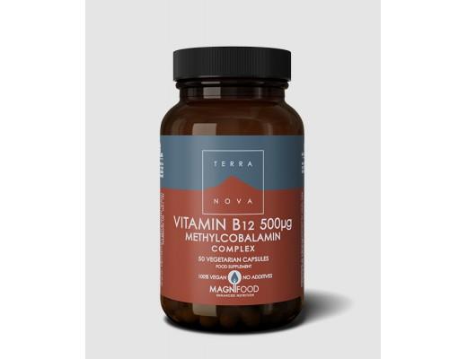 Terranova Vitamín B12 500ug Complex 50 hylki