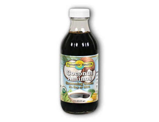 Dynamic Health Coconut aminos certified 237 ml.