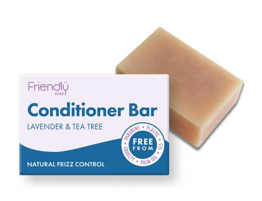Friendly hárnæring lavender og te tree
