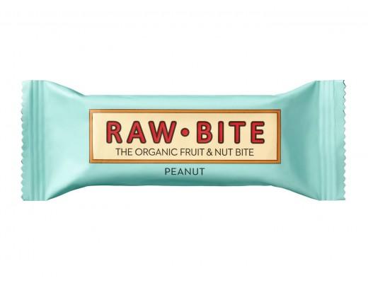 Raw Bite jarðhnetu hrábar 50 gr.