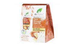 Dr. Organic Moroccan Argan Oil Hand & Nail Balm gjafasett