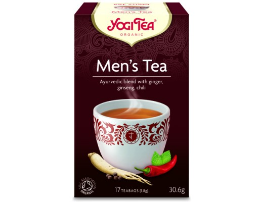 Yogi Men's tea 17 tepokar