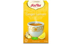 Yogi Ginger Lemon 15 tepokar