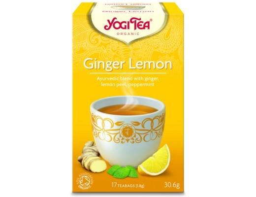 Yogi Ginger Lemon 15 tepokar