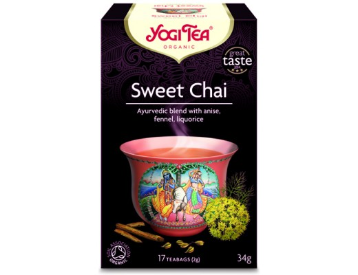 Yogi Sweet Chai 17 tepokar