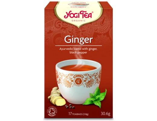 Yogi Tea Ginger 17 tepokar