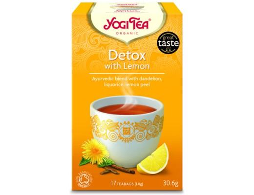 Yogi Detox með lemon 17 tepokar