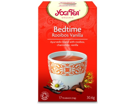 Yogi Tea Bedtime Rooibos vanilla 17 tepokar