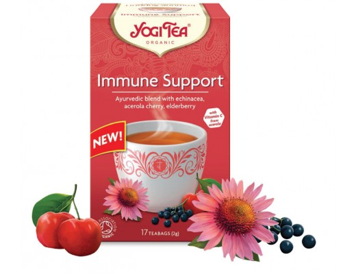 Yogi Immune Support  17 tepokar