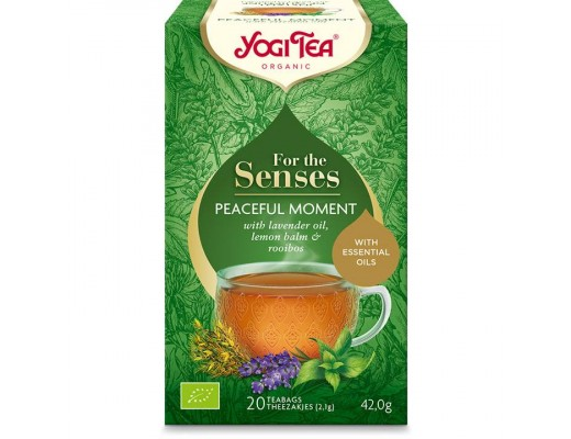 Yogi Tea For the Sensens Peaceful Moment te 20 stk.