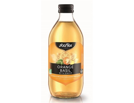 Yogi Tea Orange Basil with Ginger 330 ml.