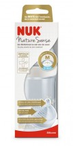 NUK NATURE SENSE HVÍTUR 260ML
