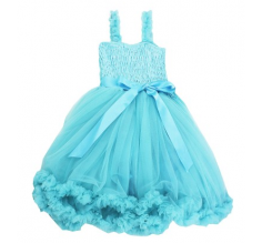 Aqua Princess Petti Dress