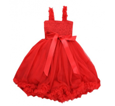 Red Princess Petti Dress