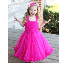 Raspberry Princess Petti Dress