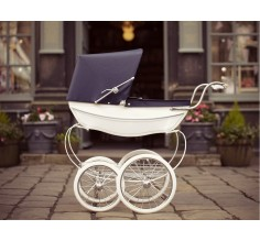 Silver Cross OBERON DOLLS PRAM WHITE
