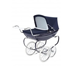 Silver Cross OBERON DOLLS PRAM NAVY