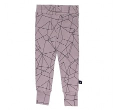 Leggings - Blush Cubes