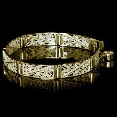 Filigree armband